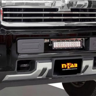 N-Fab® - LBM Bumper Mounts with Multi-Mount for LED Lights