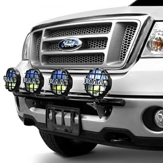 Image may not reflect your exact vehicle! N-Fab® - Light Bar on Ford F-150 Installed
