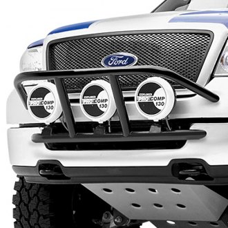 Image may not reflect your exact vehicle! N-Fab® - Light Cage on Ford F-150 Installed