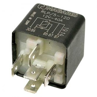 Nagares® - 12V 5-Prong Fuel Injection Relay with Plastic Bracket