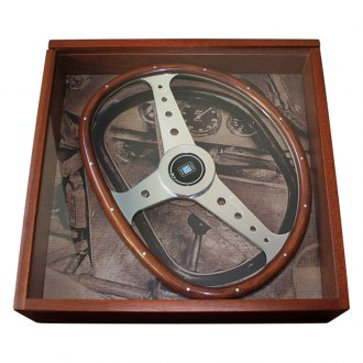 Nardi® - Bisiluro Classic Wood Steering Wheel in Wood Display Box
