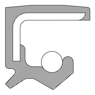 National® - Rear Polyacrylate Crankshaft Seal