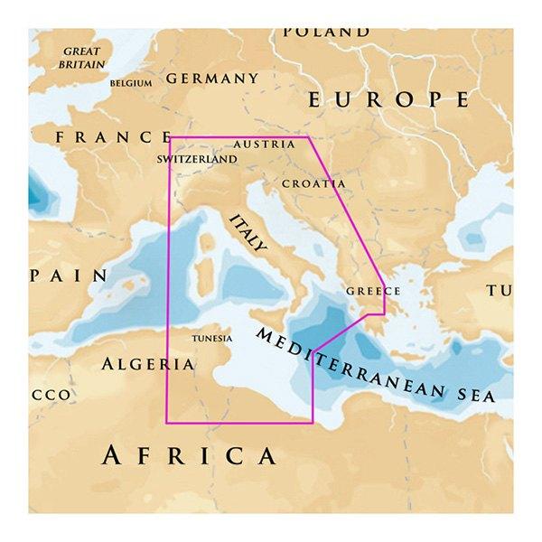 Navionics mediterranean - La tienda del gourmet