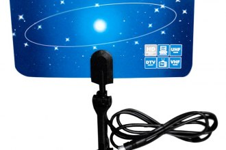 Naxa® - Ultra-Thin Flat Digital TV Antenna