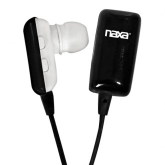 Naxa® - Black Wireless Earphones with Bluetooth