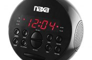 Naxa® - PLL Digital Alarm Clock with AM/FM Radio and Snooze