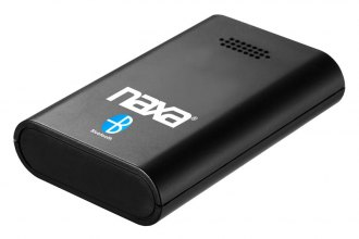 Naxa® - Bluetooth Wireless Receiver and Music System Adapter with a 30-Pin Connector