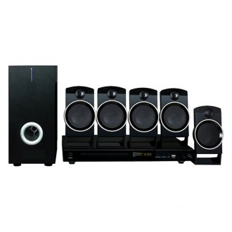 Naxa® - 5.1-Channel Home Theater DVD - Karaoke System