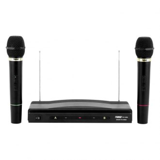 Naxa® - Professional Dual Wireless Microphone Kit
