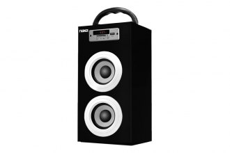 Naxa® - Bluetooth Portable Speaker with FM Radio, USB and SD Inputs