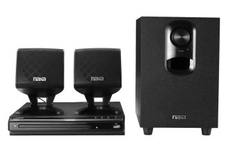 Naxa® - 2.1-Channel DVD Home Theater System