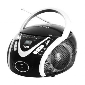 Naxa® - Portable MP3/CD/AM/FM/USB Player