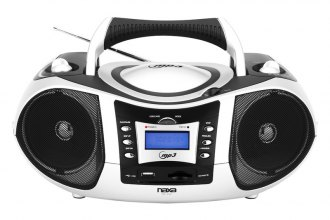 Naxa® - Portable MP3/CD/AM/FM/USB/SD/MMC Player