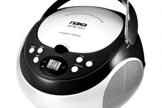Naxa® - Portable CD Player with AM/FM Stereo Radio