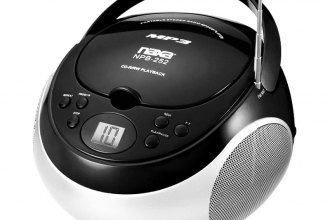 Naxa® - Portable Black MP3/CD/AM/FM Player