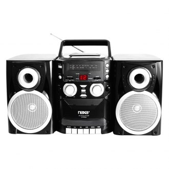 Naxa® - Portable Cassette/CD/AM/FM Stereo Player