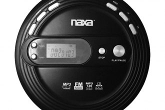 Naxa® - Slim Design MP3/CD/FM Player