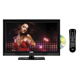 "Naxa® - 16"" Widescreen HD LED Television with Built-In Digital TV Tuner, USB/SD Inputs and DVD Player"