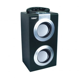 Naxa® - Portable Speaker with USB/SD/MMC Inputs