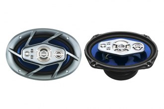 "Naxa® - 6""x9"" 6-Way 1000W Silver/Blue Speakers"