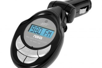 Naxa® - Wireless FM Transmitter for the Car with LCD Screen, USB and SD Inputs