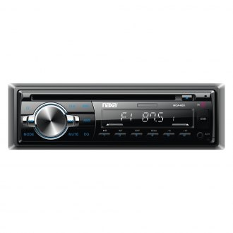 Naxa® - Single DIN Stereo CD/AM/FM/MP3 with USB Input, SD/MMC Memory Card Slot, MP3 Anti-Skip Protection and Remote Control