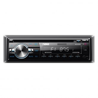 Naxa® - Single DIN CD/AM/FM/MP3/WMA Receiver with Built-In Bluetooth