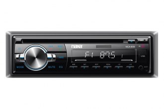 Naxa® - Single DIN AM/FM/MP3/CD Receiver with Bluetooth