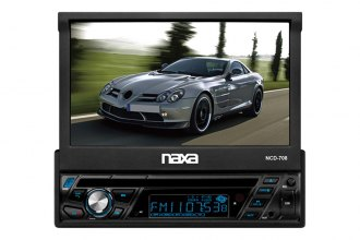 "Naxa® - 7"" Touch screen LCD AM/FM Aux input Bluetooth"