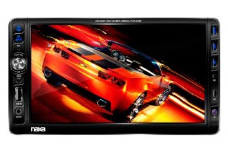 "Naxa® - Double DIN Multimedia Player with 7"" Touch Screen"