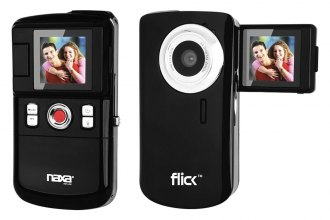 "Naxa® - 1.5"" Flick™ Mini Digital Video Camcorder"