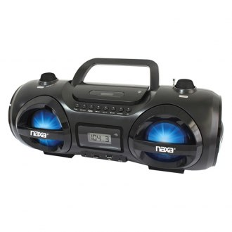 Naxa® - CD/MP3 Party Boombox with USB/SD