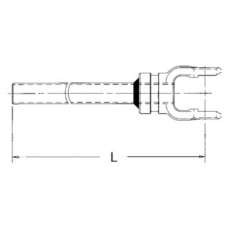 Neapco® - 1000 Series Yoke and Tube Assembly