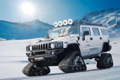 Geiger Cars Make Hummer H2 Really Unstoppable