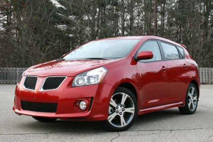 Pontiac Vibe to be Discontinued in August