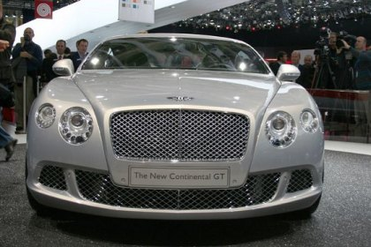 All-New 2011 Bentley Continental GT Released