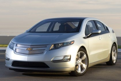 Chevy Volt Named 2011 North American Car of the Year