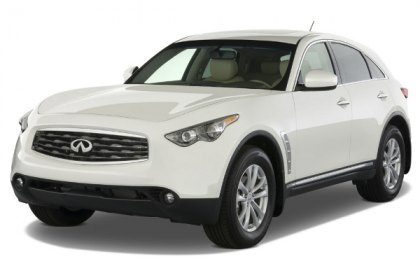 2012 Infiniti FX35 Is to Be Updated
