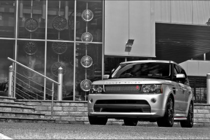 Project Kahn Unveiled 2011 Range Rover Silver Autobiography