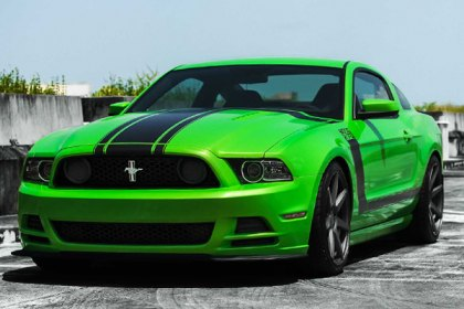 2012 Ford Mustang Boss 302 Performance Package