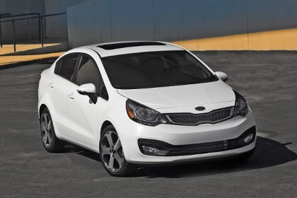 Kia unveiled its 2012 Rio Sedan