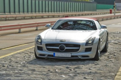 Mercedes Company Released New SLS AMG Roadster