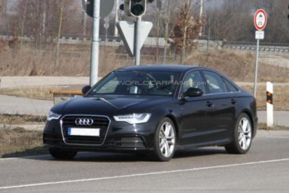 Spy Photos: 2012 Audi S6