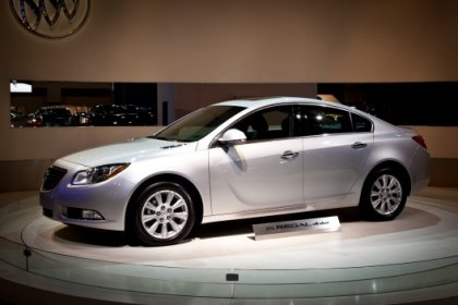 Presentation of Buick Regal eAssist