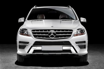 Mercedes-Benz Presents Redesigned 2012 M-Class