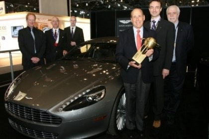 Aston Martin Honored for Design in 2011 World Car Awards