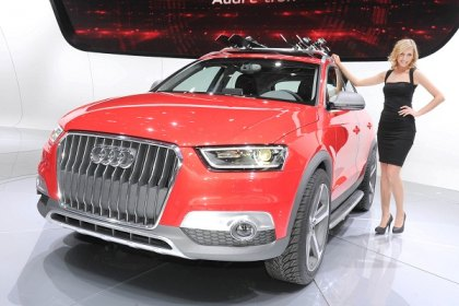 A Sport-Themed SUV Unveiled by Audi
