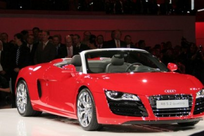 Audi Released New Convertible R8 Spyder 5.2 V-10