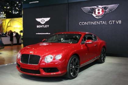 Bentley Continental GT Revealed with New Engine at 2012 Detroit Auto Show
