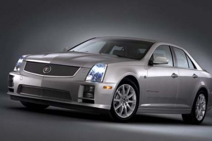 Last Cadillac STS Drives Off the Line